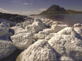 Salt Deposits, Great Salt Lake Photographic Print by Bill Eppridge