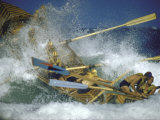 Race at Life Savers Beach Carnival Photographic Print by John Dominis