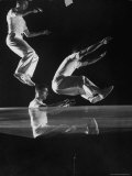Demonstration of the Strength of New Plastic Sheeting Premium Photographic Print by Andreas Feininger