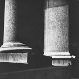 Classical Doric Column in Interior of Penn Station Photographic Print by Walker Evans