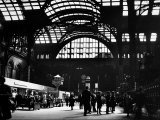 Interior View of Penn Station Photographic Print by Walker Evans