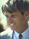 Presidential Contender Bobby Kennedy During Campaign Photographie par Bill Eppridge