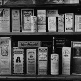 Medicines For Sale at a Local Drugstore Photographic Print by Francis Miller