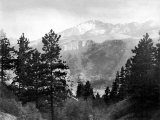 Pike's Peak in Rocky National Park Photographic Print