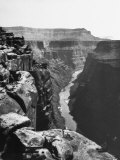 View of Colorado River Cutting Through Grand Canyon Premium Photographic Print