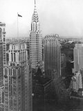 View of the Chrysler Building in New York City Photographic Print