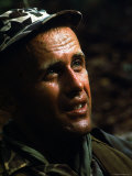 US Special Forces Captain Vernon Gillespie in Combat Premium Photographic Print by Larry Burrows