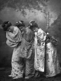 """Promotional Image from an 1885 Production of the Gilbert and Sullivan Opera """"The Mikado"""" Premium Photographic Print"""