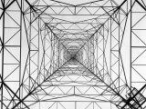 WOR Radio Transmitting Tower Photographic Print by Margaret Bourke-White