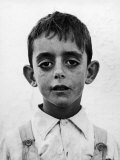 Portrait of a Spanish Boy Premium Photographic Print by Frank Scherschel