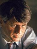 Robert Kennedy Portrait Photographie par Bill Eppridge