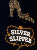 Silver Slipper Sign in Las Vegas Photographic Print by Loomis Dean