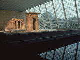 Temple of Dendur at the Metropolitan Museum of Art Photographic Print by Ted Thai