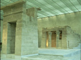 Temple of Dendur at the Metropolitan Museum of Art Premium Photographic Print by Ted Thai