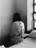 Patient in Mental Hospital Wearing a Restraining Garment Premium Photographic Print by Alfred Eisenstaedt