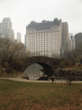 View from Central Park with Plaza Hotel in the Distance Photographic Print by Dmitri Kessel