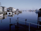 Menemsha Harbor on Martha's Vineyard Premium Photographic Print by Alfred Eisenstaedt