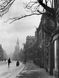 Oxford Street Scene, England Fotodruck von Alfred Eisenstaedt