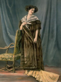 Princess St. Wearing Sable Cape from Bechoff David Premium Photographic Print by  Felix
