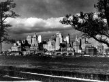 View of Lower Manhattan Skyline as Seen from Governor's Island Premium Photographic Print