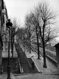 Steps Leading to the Top of the Butte Montemartre Photographic Print by Ed Clark