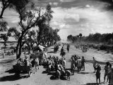 Sikhs Migrating to the Hindu Section of Punjab After the Division of India Photographic Print by Margaret Bourke-White
