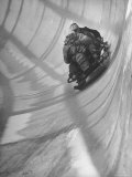View of a Bobsled Race Premium Photographic Print by Tony Linck