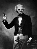 Portrait of English Physicist and Chemist Michael Faraday Photographic Print
