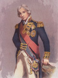 Painting by John Hoppner, of English Admiral Lord Horatio Nelson Photographic Print