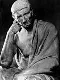 Statue of Greek Philosopher Aristotle, Photographic Print from LIFE Archives