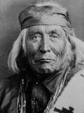 Portrait of Elderly Native American Navajo Man Premium Photographic Print by Emil Otto Hoppé