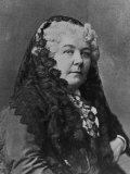Women's Suffrage Leader Elizabeth Cady Stanton Fotografisk tryk