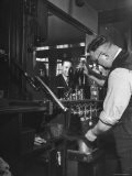 Robert Neve Buying Round of Beer at Bar Premium-Fotodruck von Hans Wild