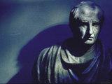 Marble Bust of Cicero Fotografie-Druck von Gjon Mili