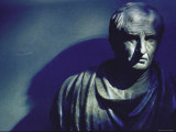 Marble Bust of Cicero Photographic Print by Gjon Mili