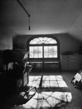 Window in Henry James' Home Reflecting Sunlight on the Floor Premium Photographic Print by Eliot Elisofon