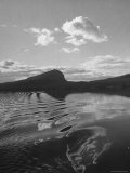 View of a Mountain and Lake in the Section For Sweden Known as Lappland Premium Photographic Print by Eliot Elisofon