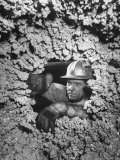 Man Working in Permanente Co. Magnesium Plant Premium Photographic Print by J. R. Eyerman