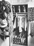 The 21 Club's Jack Kriendler's Wardrobe Photographic Print by Eric Schaal