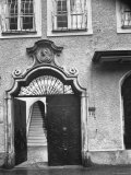 Wolfgang Amadeus Mozart's Birthplace in Salzburg Photographic Print by Gjon Mili