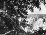 Victoria Falls on the Zambesi River Premium Photographic Print by Eliot Elisofon