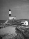 Montauk Point Lighthouse Photographic Print by Alfred Eisenstaedt