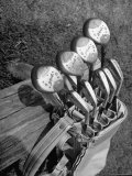 View of Golf Clubs Photographic Print by Bernard Hoffman