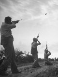 Men Hunting Doves Photographic Print by Cornell Capa