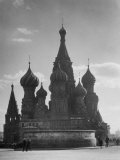 St. Basil's Russian Orthodox Cathedral in Red Square Premium Photographic Print by Margaret Bourke-White