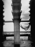 World's Largest Dam Across the Dnieper River under Construction, Margaret Bourke-White, Photographic Print