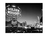 The Golden Nugget Gambling Hall Lighting Up Like a Candle Fotodruck von J. R. Eyerman