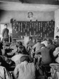 Primary School Children Sitting in Class Premium Photographic Print by George Lacks