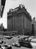 Overall View of the Plaza Hotel Photographic Print by Dmitri Kessel