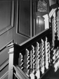 Staircase in the Metropolitan Museum of Art Premium Photographic Print by Alfred Eisenstaedt